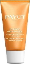 Perfumería y cosmética Mascarilla de noche antifatiga con ácido hialurónico y extracto de árbol de seda para piel iluminada - Payot My Payot Sleeping Pack