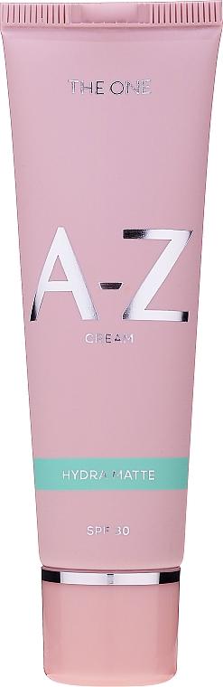 Crema facial hidratante y matificante con glicerina - Oriflame The One A-Z Cream Hydra Matte SPF30