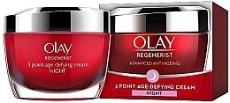 Perfumería y cosmética Crema antiedad intensiva 3 áreas - Olay Regenerist 3 Point Age-Defying Cream Night