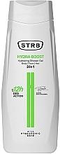 Perfumería y cosmética Gel de ducha para rostro, cuerpo y cabello con ácido hialurónico - STR8 Hydra Boost Hydrating Shower Gel 3 in 1