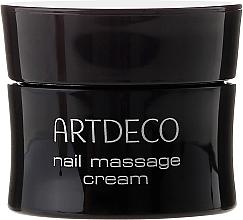 Crema de masaje de uñas restauradora con proteínas de seda y vitaminas A y E - Artdeco Nail Massage Cream — imagen N2