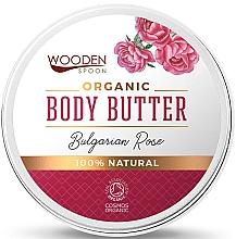 Perfumería y cosmética Manteca corporal natural con rosa búlgara - Wooden Spoon Bulgarian Rose Body Butter