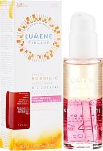 Perfumería y cosmética Aceite facial bifásico con vitaminas y bayas árticas - Lumene Nordic-C Valo Arctic Berry Oil-Cocktail