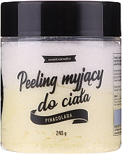 Perfumería y cosmética Exfoliante corporal limpiador, piña colada - Lalka