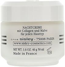 Crema de noche con colágeno - Sisley Creme Collagene Et Mauve Botanical Night Cream — imagen N2
