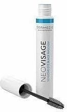 Perfumería y cosmética Máscara de pesatañas hipoalérgica con cera de carnauba y pantenol - Dermedic Neovisage Sensitive Eye Black Mascara
