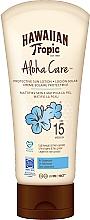 Perfumería y cosmética Loción corporal de protección solar - Hawaiian Tropic Aloha Care Protective Sun Lotion Mattifies Skin SPF 15