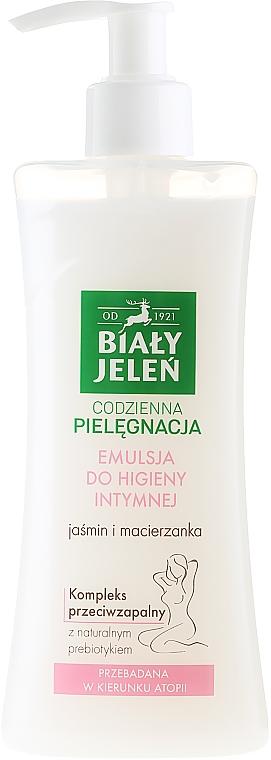 Emulsión para higiéne íntima hipoalergénica de jazmín y tomillo - Bialy Jelen Hypoallergenic Emulsion For Intimate Hygiene