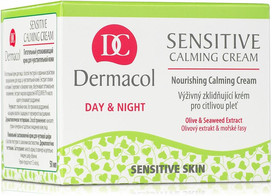 Crema facial calmante con extracto de algas - Dermacol Sensitive Calming Cream — imagen N3