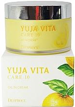 Perfumería y cosmética Aceite facial en crema rejuvenecedora con aceite esencial de cidra - Deoproce Yuja Vita Care 10 Oil in Cream