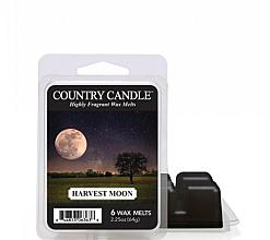 Perfumería y cosmética Cera para lámpara aromática con fragancia a melocotón y sándalo - Country Candle Harvest Moon Wax Melts