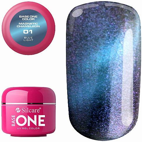 Gel de uñas - Silcare Base One Magnetic Chameleon UV Gel Color