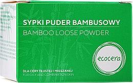Perfumería y cosmética Polvo facial suelto de bambú - Ecocera Bamboo Face Powder