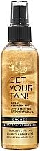 Perfumería y cosmética Bruma corporal, efecto brillante - Lift4Skin Get Your Tan! Gold Glowing Mist