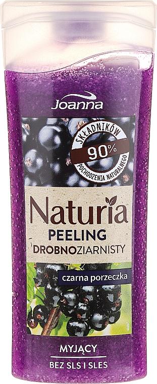Gel de ducha exfoliante natural con extracto de grosella negra - Joanna Naturia Peeling