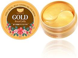 Perfumería y cosmética Parches para ojos de hidrogel con oro y jalea real - Petitfee & Koelf Gold & Royal Jelly Eye Patch
