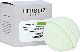 Perfumería y cosmética Bomba de baño 100% natural con aceite de limoncillo - Herbliz CBD