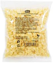 Perfumería y cosmética Cera depilatoria granulada, natural - Ronney Hot Film Wax Natural