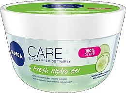 Perfumería y cosmética Gel-crema facial hidratante con ácido hialurónico y extracto de pepino - Nivea Care Fresh Hydro Gel