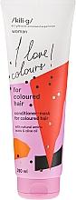 Perfumería y cosmética Acondicionador-mascarilla protector del color con aceite de oliva - Kili·g Woman Conditioner For Coloured Hair