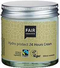 Perfumería y cosmética Crema facial con aceite de argán, oliva y semilla de albaricoque, - Fair Squared Hydro Protect 24 Hours Cream
