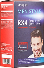Perfumería y cosmética Tinte de cabello sin amoníaco, sistema de 4 pasos - Marion Men Style 4 Steps Grey Hair Reducer