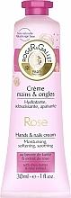 Perfumería y cosmética Crema de manos con manteca de karité y extracto de rosa - Roger & Gallet Rose Hand & Nail Cream