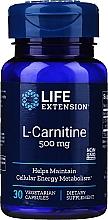 Perfumería y cosmética Complemento alimenticio de L-Carnitina, en cápsulas 500mg - Life Extension L-Carnitine