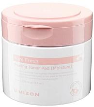 Perfumería y cosmética Almohadillas faciales exfoliantes con extracto de semilla de cardo blanco - Mizon Pore Fresh Peeling Toner Pad