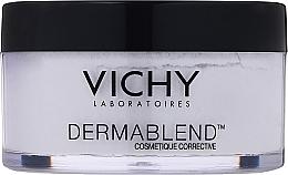 Perfumería y cosmética Polvo hipoalergénico fijador de maquillaje con talco y agua mineralizante de Vichy - Vichy Dermablend Setting Powder