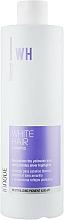 Perfumería y cosmética Champú para cabello blanco con vitamina B5 y pigmento neutralizador de tonos amarillos - Kosswell Innove Professional White Hair Shampoo