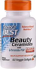 Perfumería y cosmética Complemento alimenticio en cápsulas con ceramida-PCD para la piel, 60 cáp. - Doctor's Best Beauty Ceramides with Ceramide-PCD