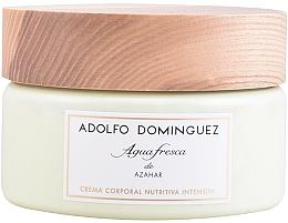 Perfumería y cosmética Adolfo Dominguez Agua Fresca de Azahar - Crema corporal nutritiva intensiva con agua fresca de azahar