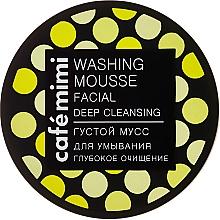 Perfumería y cosmética Mousse limpiador facial, Limpieza Profunda, con carbón y aceite de árbol de té - Cafe Mimi Washing Mousse Facial Deep Cleaning
