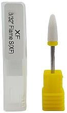 Perfumería y cosmética Fresa de cerámica, amarilla - Deni Carte XF 3/32 Flame