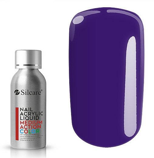 Acrílico líquido para uñas - Silcare Nail Acrylic Liquid Medium Action Color
