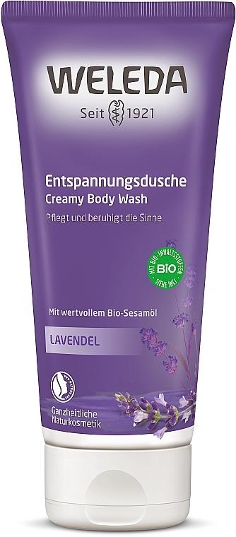 Gel de ducha con aceite esencial de lavanda - Weleda Lavendel Entspannungsdusche — imagen N1