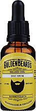 Perfumería y cosmética Aceite orgánico artesanal para barba con jojoba, argán y albaricoque - Golden Beards Beard Oil Big Sur