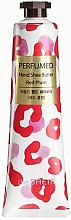 Perfumería y cosmética Crema de manos perfumada con manteca de karité, aroma a ciruela roja - The Saem Perfumed Red Plum Hand Shea Butter