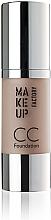 Perfumería y cosmética Make up Factory CC Foundation - Base de maquillaje correctora del color