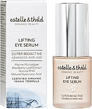 Perfumería y cosmética Sérum contorno de ojos con extracto de hoja de mora, efecto lifting - Estelle & Thild Super Bioactive Lifting Eye Serum