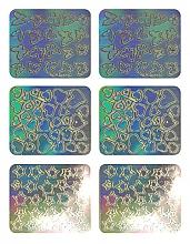 Perfumería y cosmética Pegatinas decorativas para uñas, 3703 - Neess Patternness