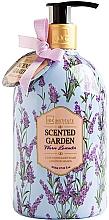 Perfumería y cosmética Jabón de manos líquido con aroma a lavanda - IDC Institute Scented Garden Hand Wash Warm Lavender