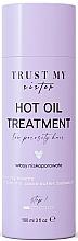 Perfumería y cosmética Aceite de cabello de porosidad baja con mantecas de karité y cacao - Trust My Sister Low Porosity Hair Hot Oil Treatment