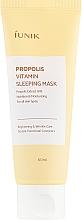 Perfumería y cosmética Mascarilla facial con extracto de propóleos - iUNIK Propolis Vitamin Sleeping Mask