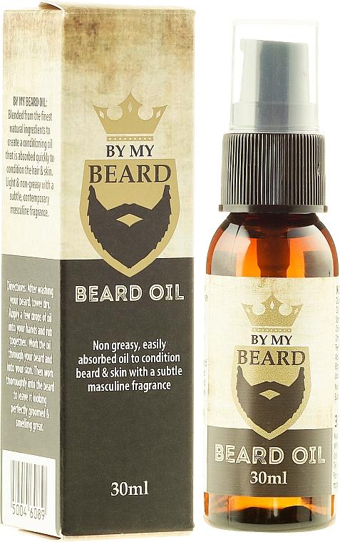 Aceite de barba con pachulí - By My Beard Beard Care Oil