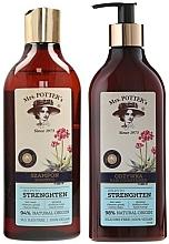 """Perfumería y cosmética Set capilar """"triple poder de las raíces"""" - Mrs. Potter's Triple Root (champú/390ml + acondicionador/390ml)"""