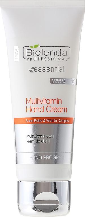 Crema de manos con manteca de karité y multivitaminas - Bielenda Professional Multivitamin Hand Cream