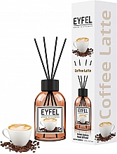 Perfumería y cosmética Ambientador Mikado con aroma a café - Eyfel Perfume Reed Diffuser Coffee