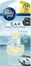 Perfumería y cosmética Ambientador de coche fresco (recambio) - Ambi Pur Air Freshener Refill Refreshing Stream